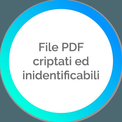 File PDF criptati ed identificabili | Portali In Cloud