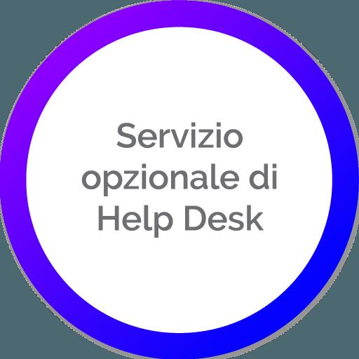 Servizio opzionale di Help Desk | Portali In Cloud