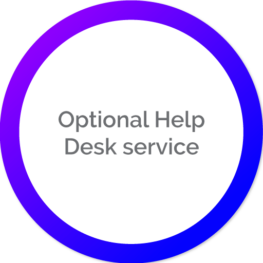 Optional Help Desk service