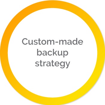 Custom-made backup strategy